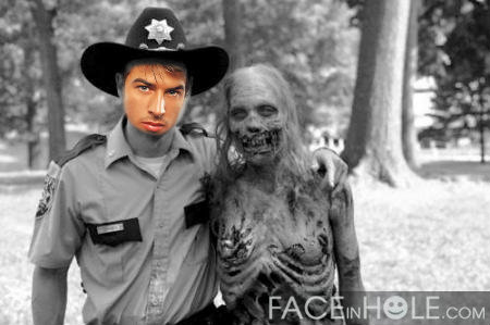 Fotomontaje de The Walking Dead